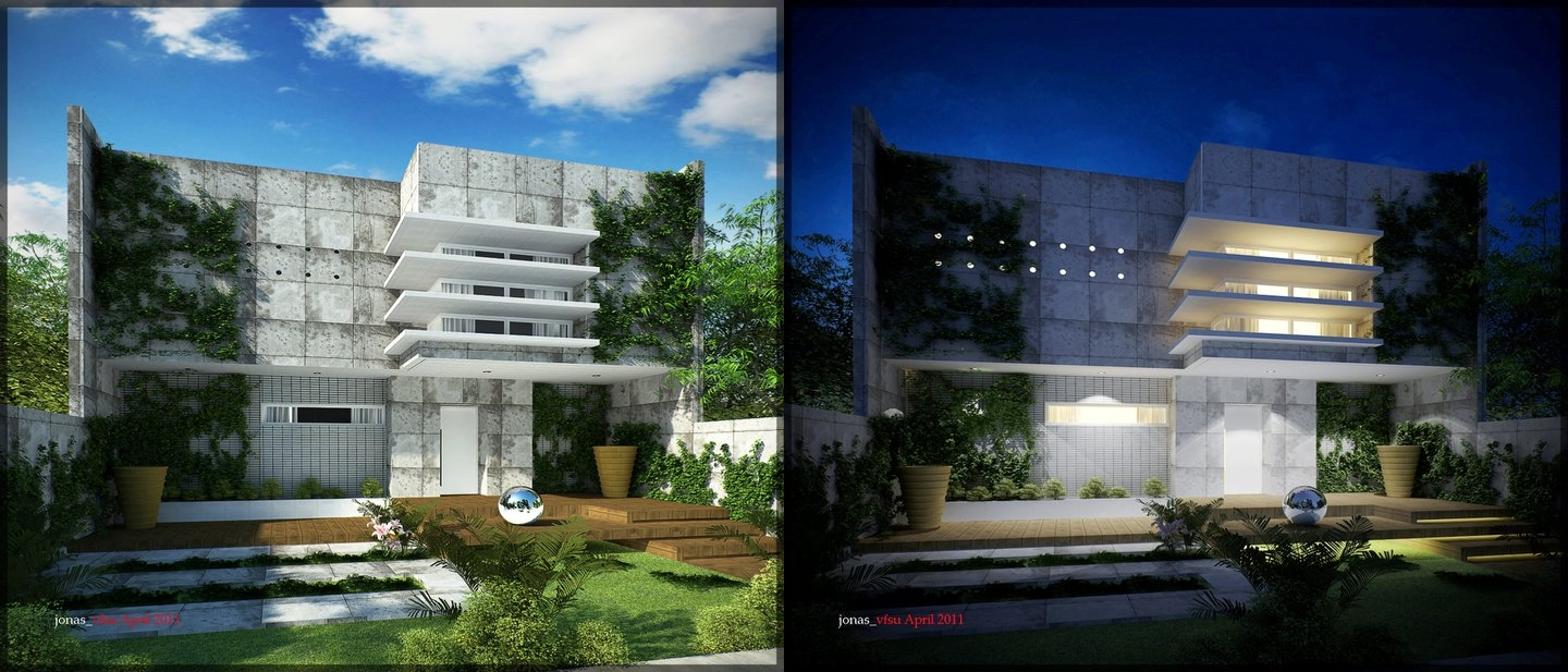 Interview with jonathan pagaduan ignas - Painting exterior render model ...