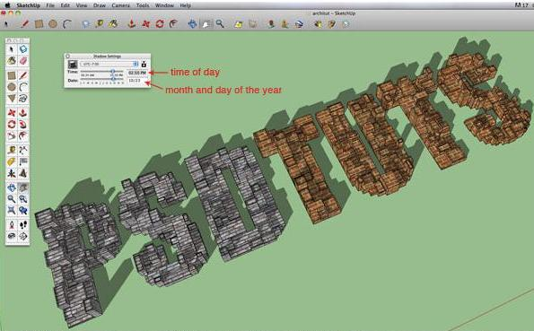 Enhance your design skill with Sketchup and Photoshop