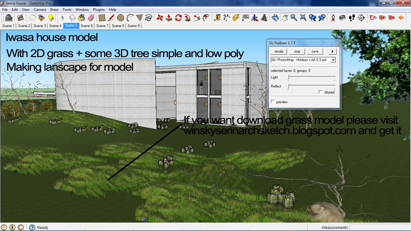 Podium Plugin For Sketchup With Sketchup And Podium