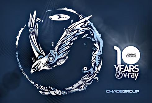 Chaos Group Celebrates V-Ray's 10th Anniversary