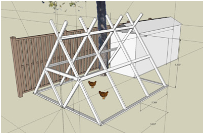 Google Sketchup as an Urban Homesteading Tool