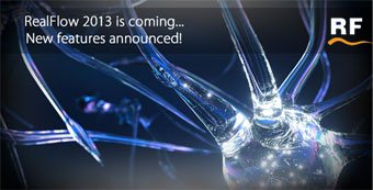 RealFlow 2013's FIRST OFFICIAL technical preview