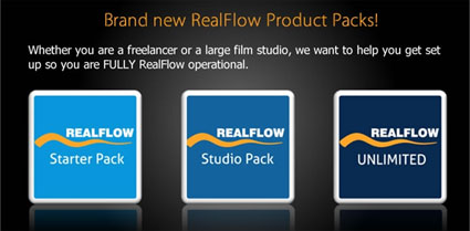 Brands new RealFlow Product Packs