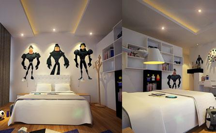 The Making of Kids Bedroom