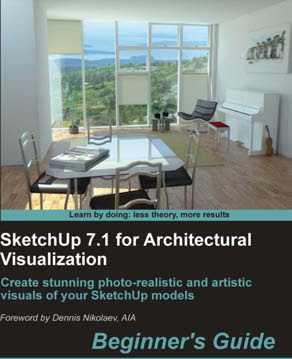 Sketchup 7.1 for architectural visualization