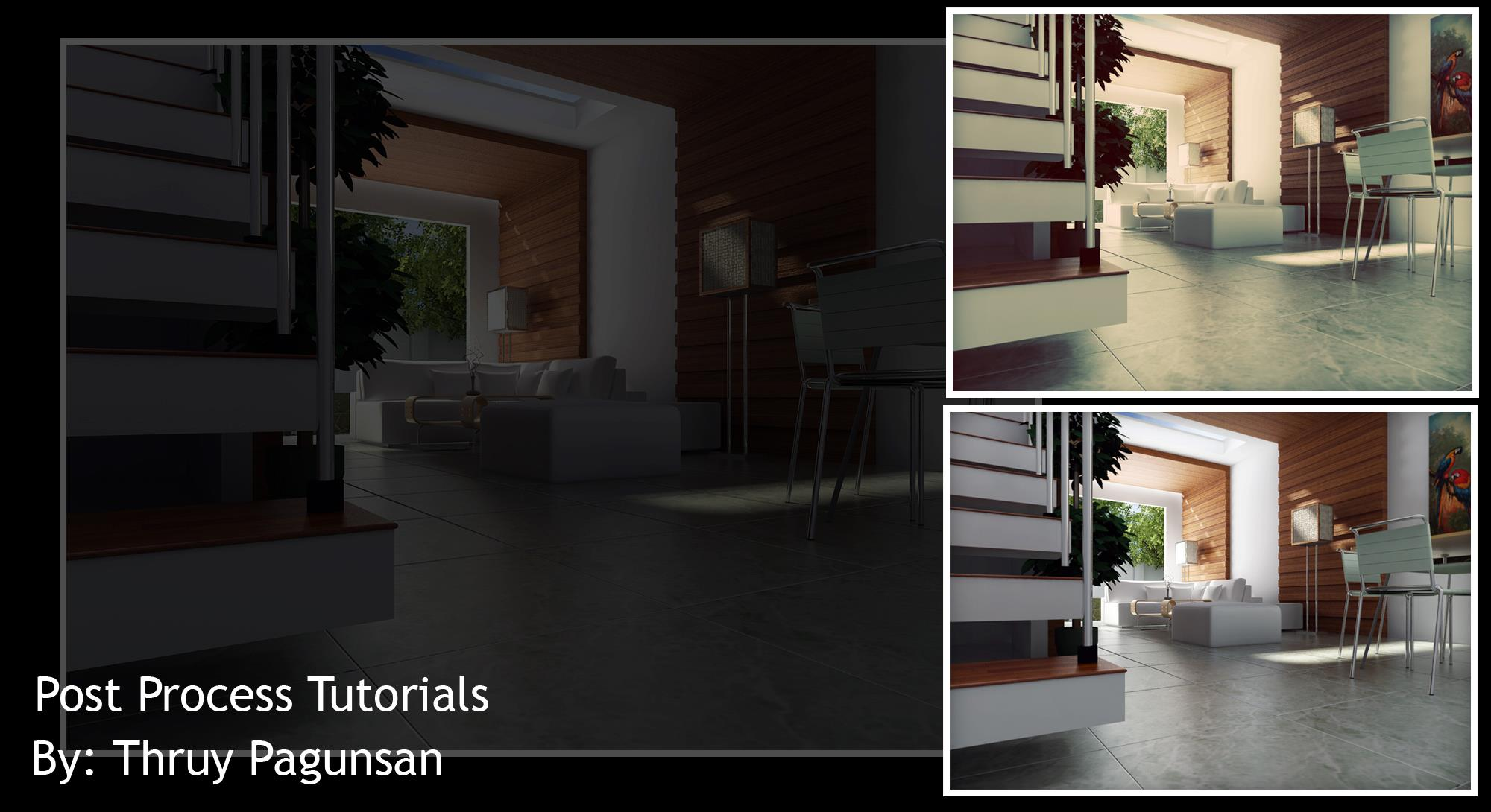 Post process tutorials render in sketchup and post process in post process tutorials render in sketchup and post process in photoshop baditri Gallery