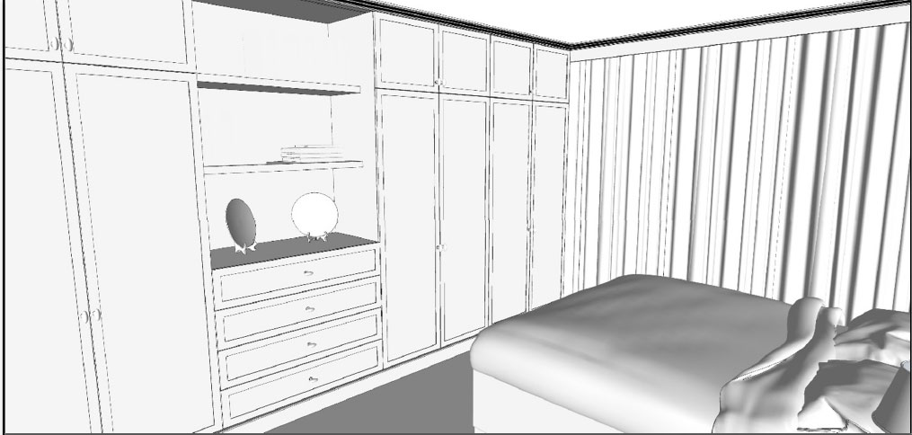 The Making Of The Bedroom With Sketchup Sketchup Tips