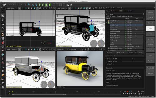 RaySupreme v1.1 Released for 3D Modeling, Rendering