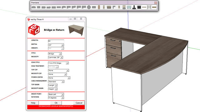 Rapid Easy Design - An exclusive plugin for sketchup