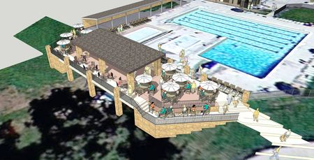 Adding context and entourage to sketchup models for Pool design sketchup