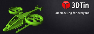School Tool - 3DTin Provides Free, Online Modeling Environment