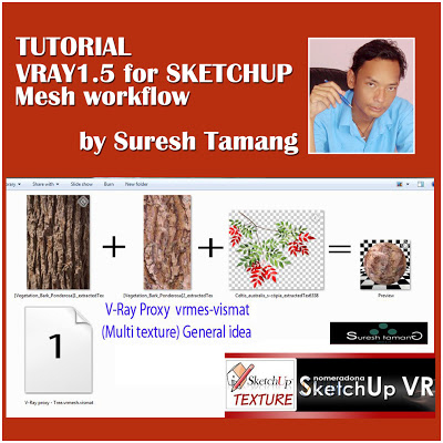 Tutorial Vray1 1.5 for SketchUp Mesh Workflow