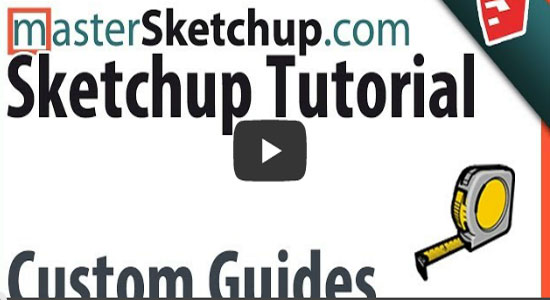 Using Guides in Sketchup