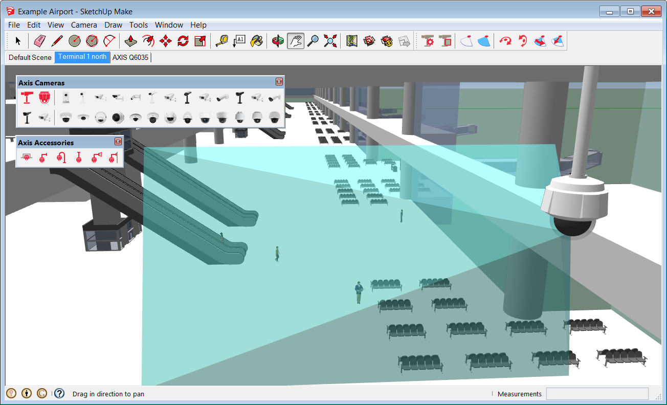 Designing Video Surveillance Systems Using 3d Visualization