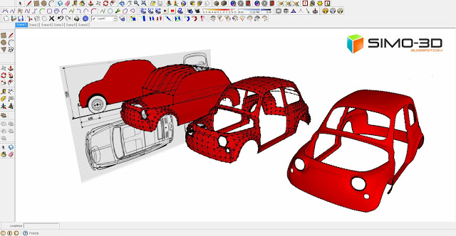 How to model a fiat car 500 with sketchup malvernweather Images