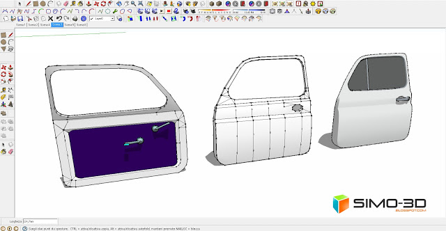 How to model a fiat car 500 with sketchup malvernweather Choice Image