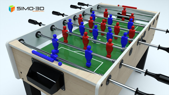 How to create this field for football with Sketchup
