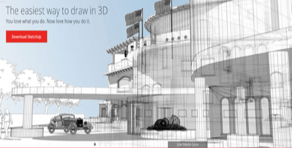 3D Design Software – Trimble SketchUp