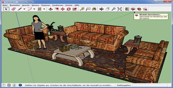 Konstruieren in 3D mit Sketchup 2014