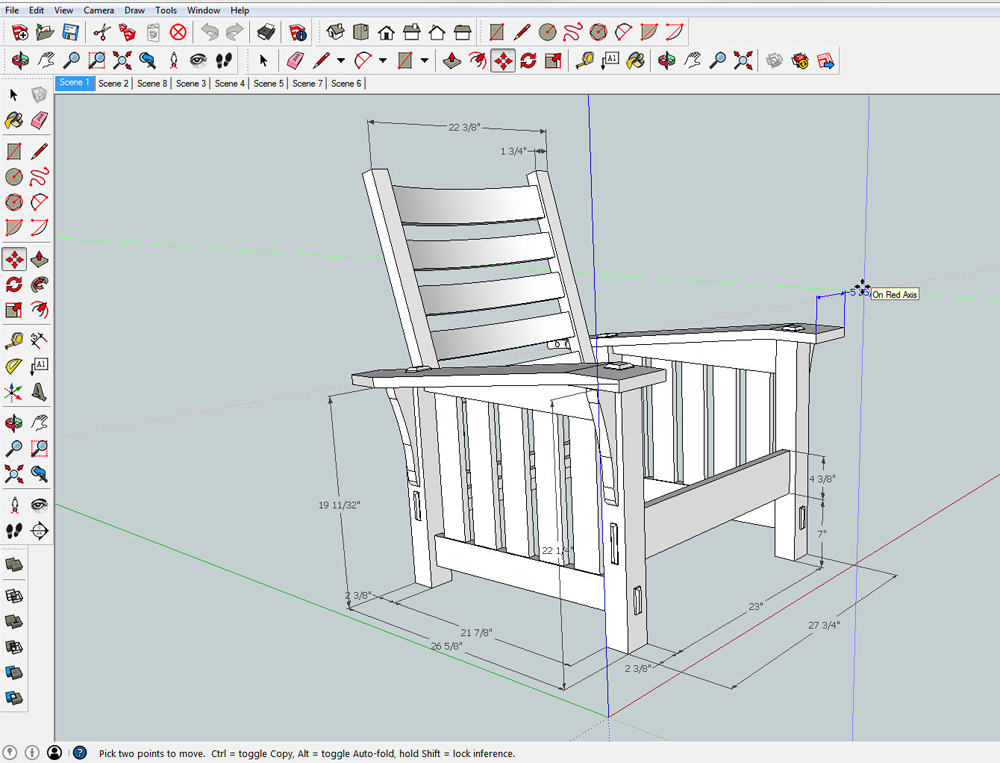 3D Modelling Is Essentially A Dress Rehearsal For Building In Real Life And  SketchUp Prevents Many Of The Errors ...