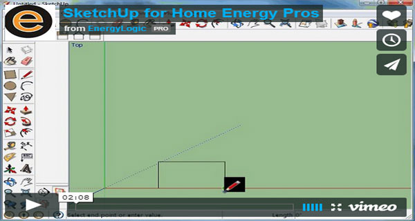 SketchUp Training for Home Energy Professionals RESNET 2014