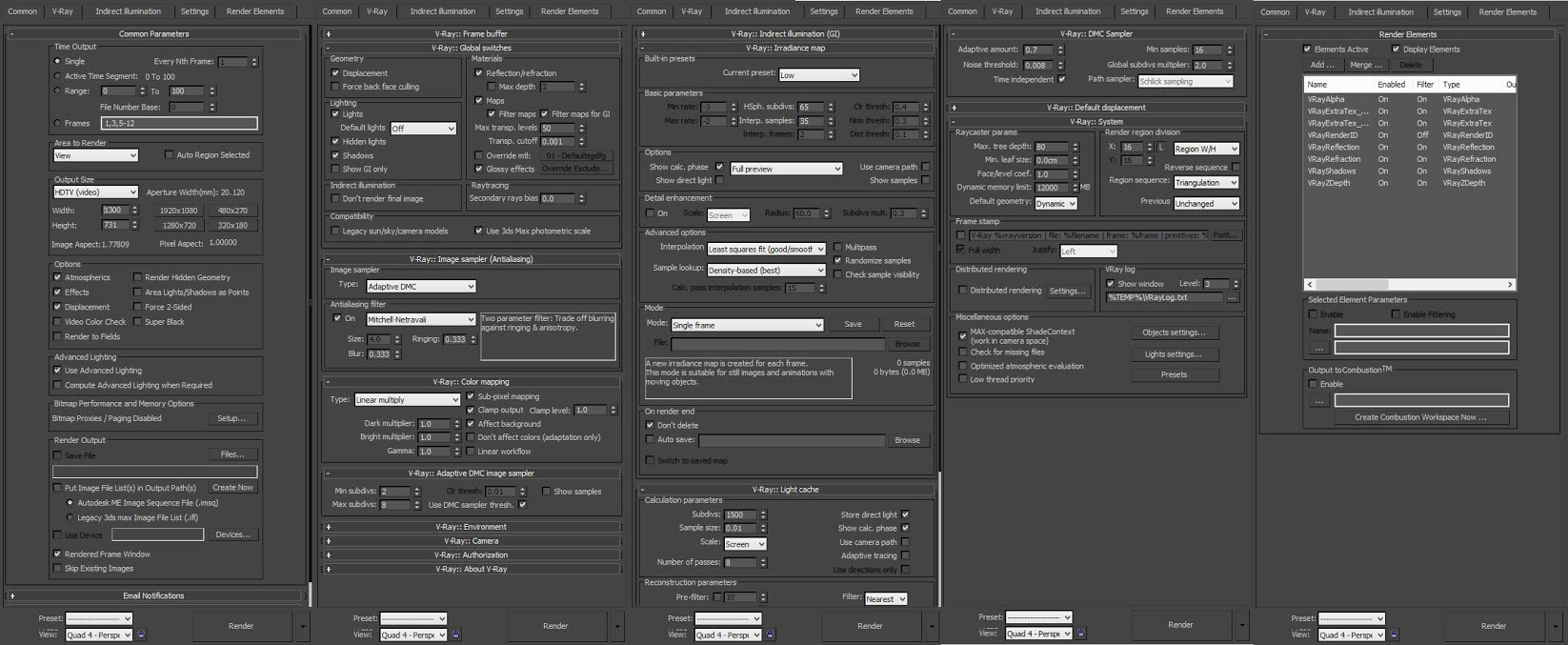 3ds max vray render settings pdf