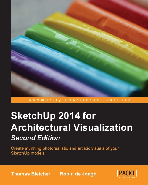 An exclusive sketchup book 'SketchUp 2014 for Architectural Visualization' 2nd edition is just launched