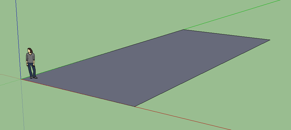 Modelling a pool in SketchUp