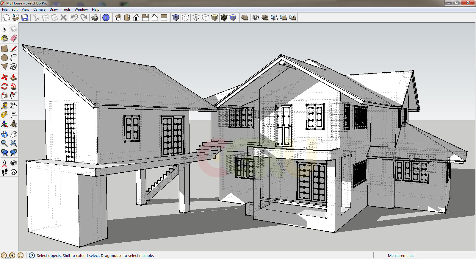 3d modeling with sketchup make trimble for 3d home builder software