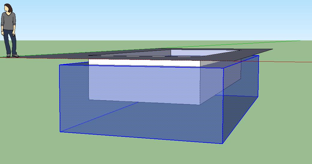 Modeling a pool in sketchup for Pool design sketchup