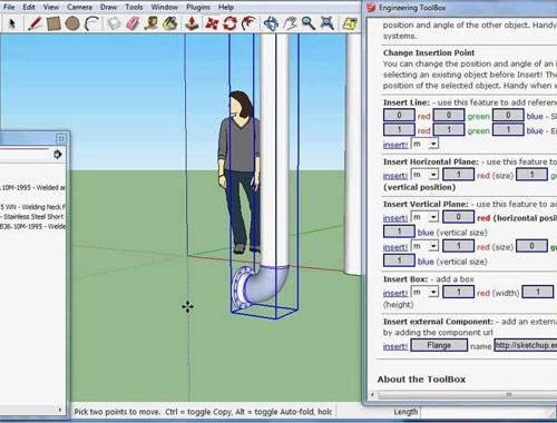 How to use Sketchup Engineering Toolbox