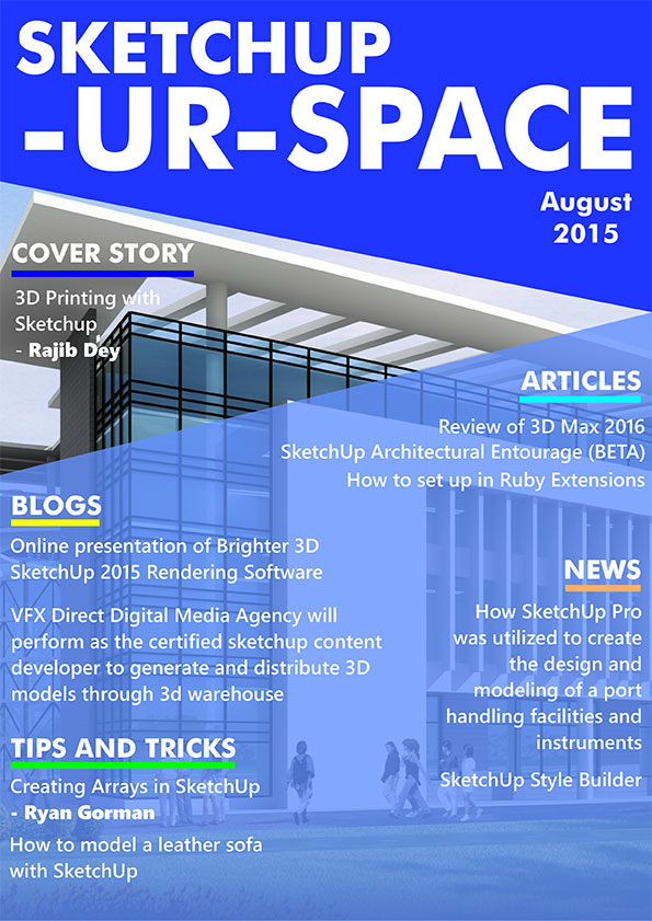 Sketchup-ur-space Magazine - August 2015