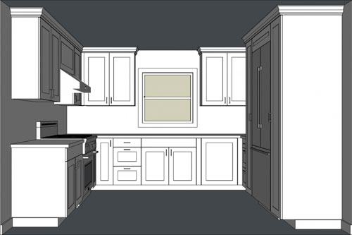 Designing Kitchen Cabinets with SketchUp