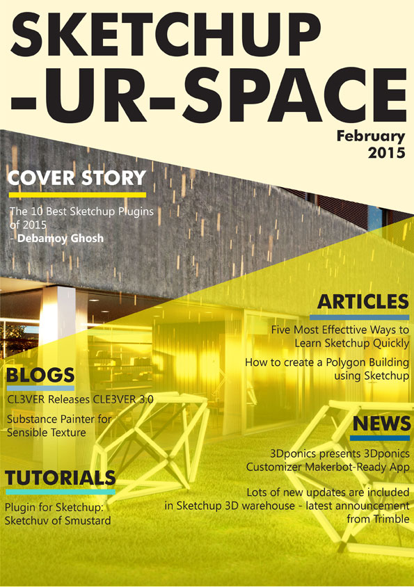 Sketchup-ur-space Magazine - February 2015