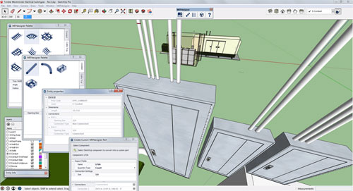Trimble MEPdesigner for SketchUp
