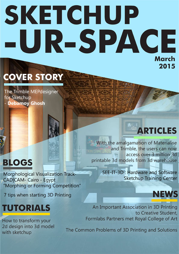 Sketchup-ur-space Magazine - March 2015