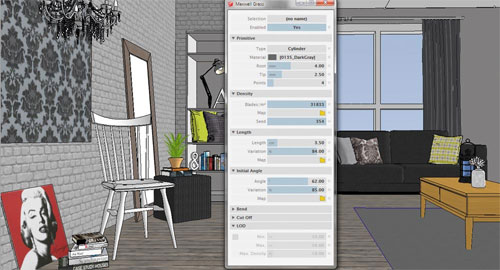 3d textures using sketchup