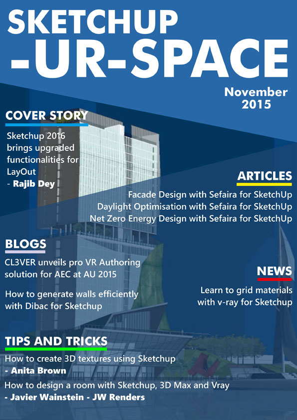 Sketchup-ur-space Magazine - November 2015