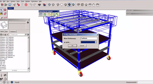 Cadman Report Tools For Sketchup