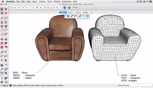 how to create a grid in sketchup