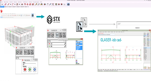 2016 GLASER STX for Sketchup