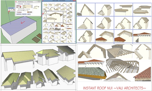 Quit Smoke Roofing Sketchup Materials