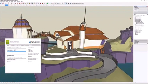 PlayUp Tools for Sketchup