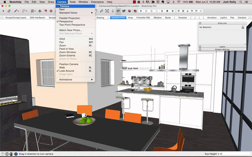 SketchUp tips for interior designers