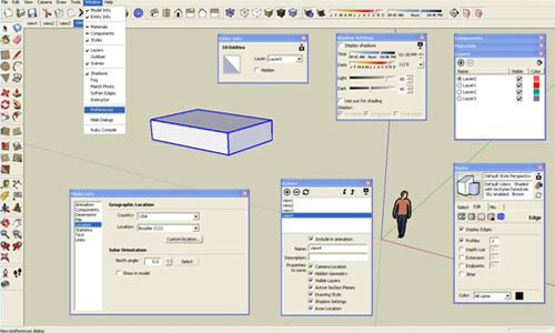 SketchUp Dialog Box – A Complete Tutorial