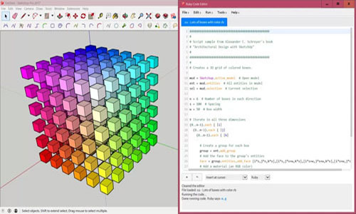 SketchUp for Ruby Code Editor