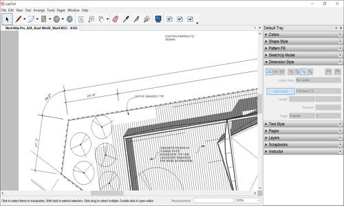 Angular Dimension in SketchUp