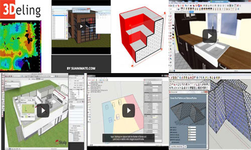 SketchUp Plugins for Ultimate 3D modeling