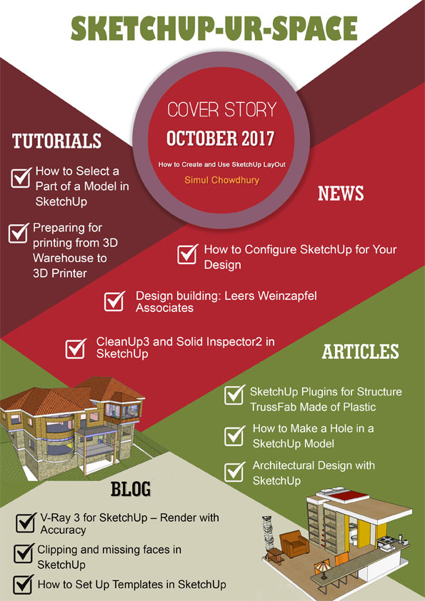 Sketchup-ur-space Magazine - October 2017