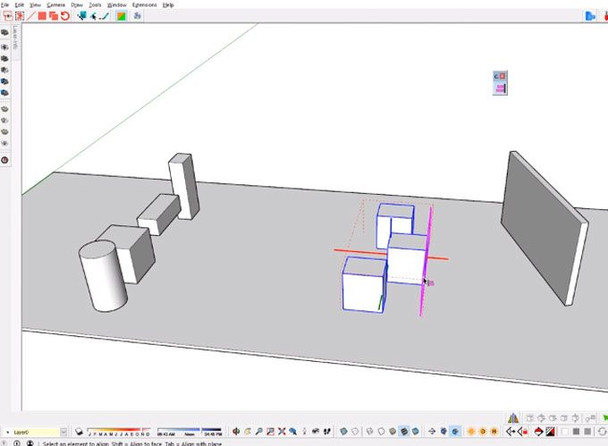 Curic Space for SketchUp Function description